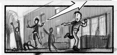 8 Criss Angel - A.J. Carter Storyboard