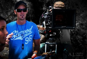 Director A.J. Carter on set of Ronan's Escape - Perth, Western Australia