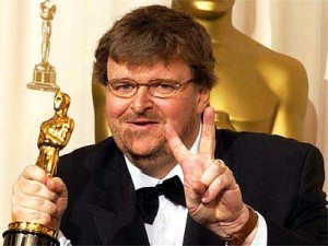 Film maker Michael Moore