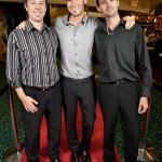Luke Martin, A.J. Carter and Brad Major