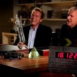 A.J. Carter Arnold Schwarzenegger James Cameron Filming Prop 23